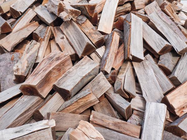 Chopped wood Stock photo © hraska