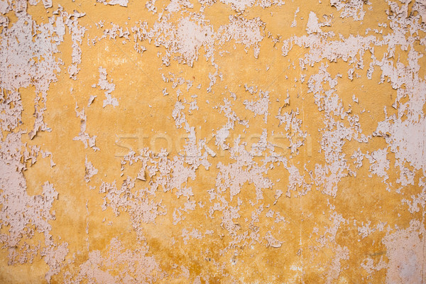 Texture minable peinture fissures jaune Photo stock © hraska