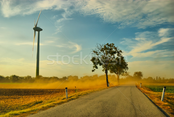 Wind power Stock photo © hraska