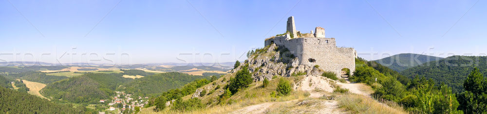 Stock photo: The Bathory Castle