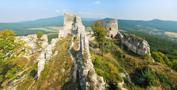 Fascinating ruins Stock photo © hraska