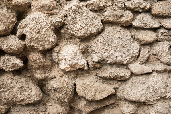 Conglomerate stone wall  Stock photo © hraska
