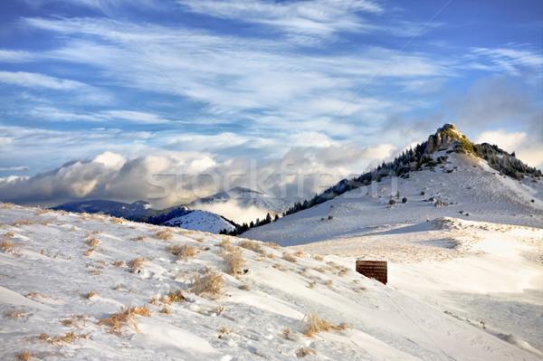 Under the peaks Stock photo © hraska