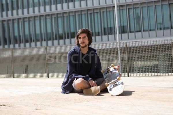 Skateboarder Stock photo © hsfelix