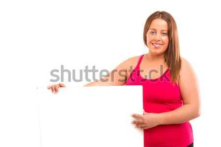 製品 プレゼンテーション 美しい 女性 ストックフォト © hsfelix