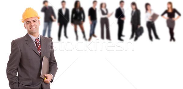 Business man posing Stock photo © hsfelix