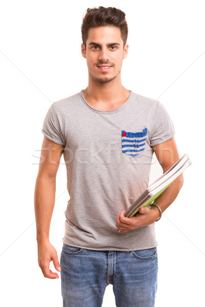Happy student Stock photo © hsfelix