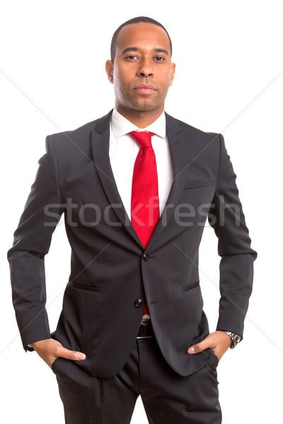 African business man Foto stock © hsfelix