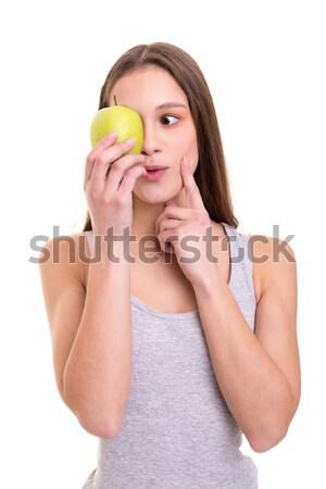 яблоко день красивой свежие Сток-фото © hsfelix