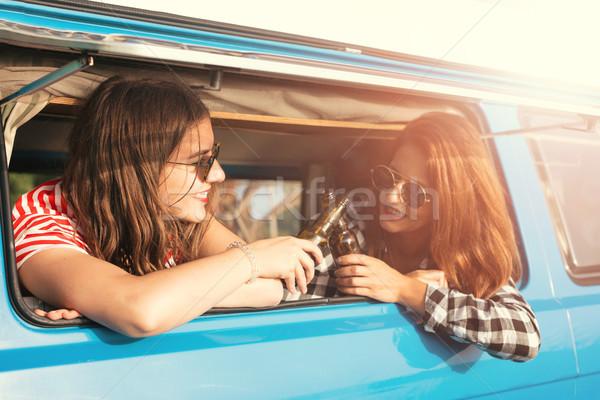 Zomer vakantie weg reis vakantie reizen Stockfoto © hsfelix