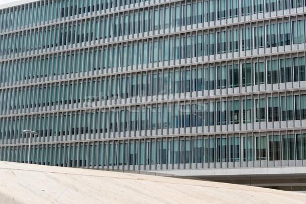 Modern bina tok pencereler iş gökyüzü Stok fotoğraf © hsfelix