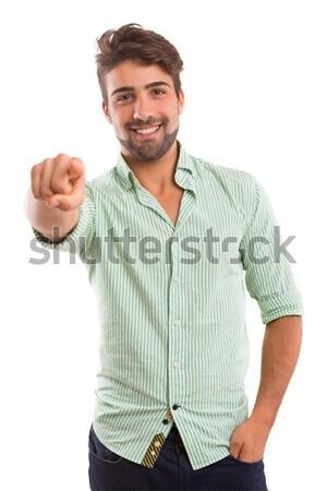 Hey you! Stock photo © hsfelix