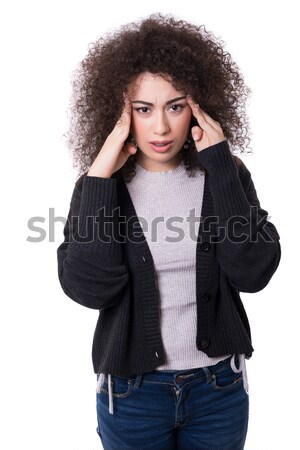 Let me think about this Stock photo © hsfelix