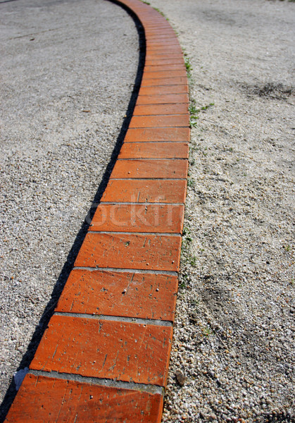 Trottoir vague design perspectives texture route Photo stock © hsfelix