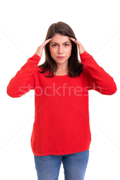 Stock photo: Oh no, not again!