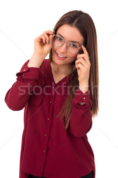 Pueden ver mejor ahora gafas Foto stock © hsfelix