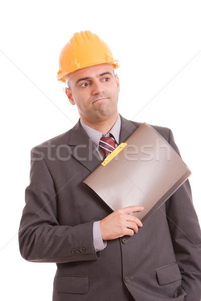 Engineer posing Stock photo © hsfelix