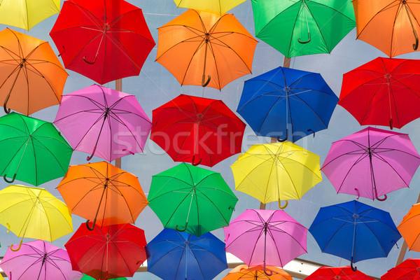 Umbrellas Stock photo © hsfelix