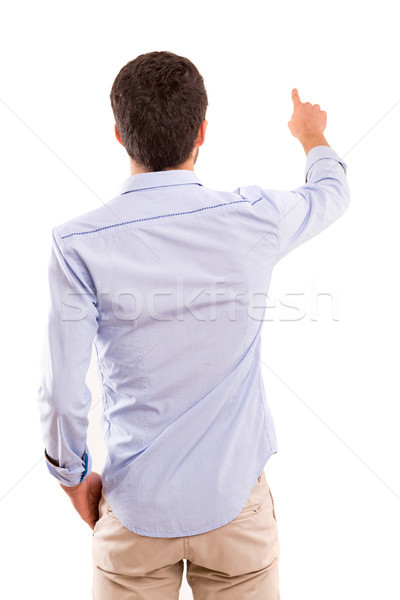 Stock photo: Young man