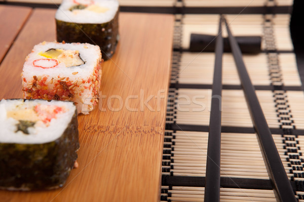 sushi pieces Stock photo © hsfelix