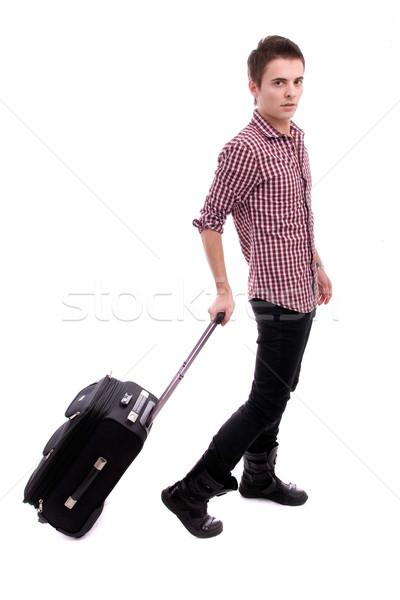 Young boy, going on vacations Stock photo © hsfelix