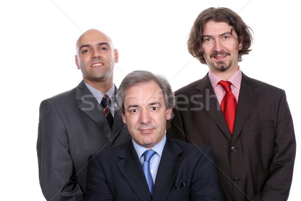 Business team posing Stock photo © hsfelix