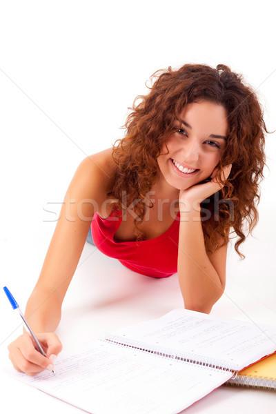Girl studying Stock photo © hsfelix