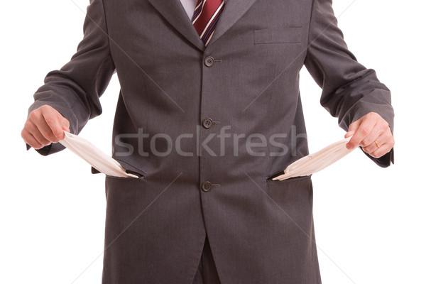 Сток-фото: человека · пусто · изолированный · белый · бизнеса