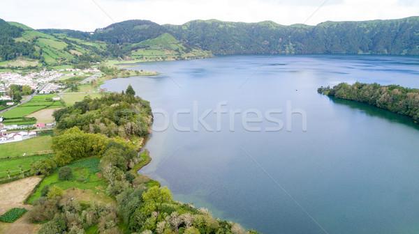Lagoa das 7 Cidades (Lagoon of the Seven Cities) - Azores - Port Stock photo © hsfelix