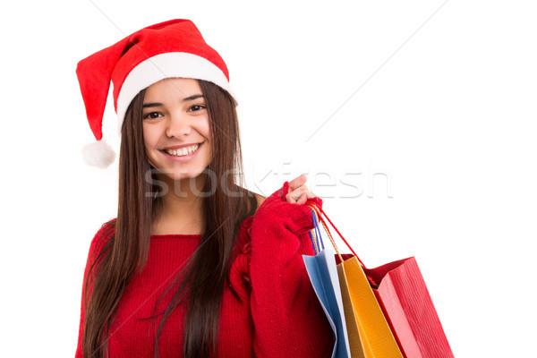 Santa Claus Woman Stock photo © hsfelix