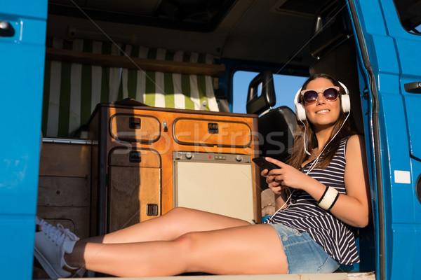 Laatste zomer vakantie weg reis reizen Stockfoto © hsfelix