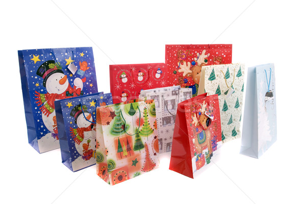Lots of Christmas gifts Stock photo © hsfelix