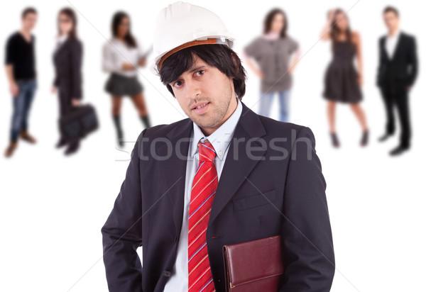 Young engineer Stock photo © hsfelix