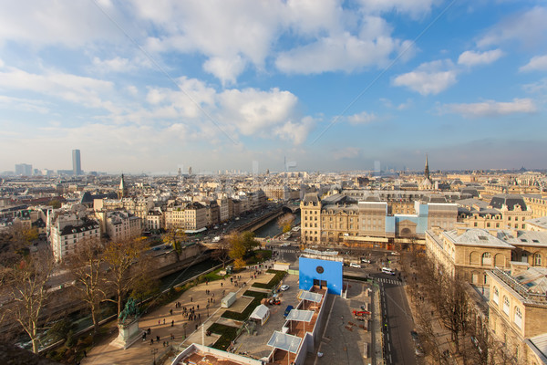 View from Notre Dame of Paris Stock photo © hsfelix
