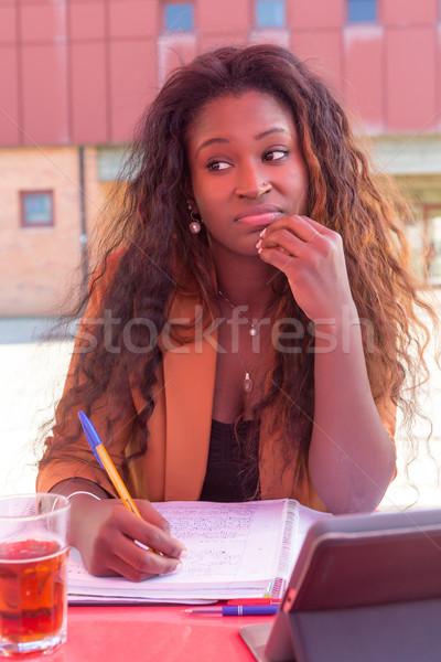 Time to study! Stock photo © hsfelix