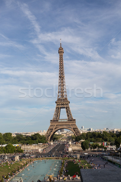 Paris en iyi şehir Avrupa ana cazibe Stok fotoğraf © hsfelix