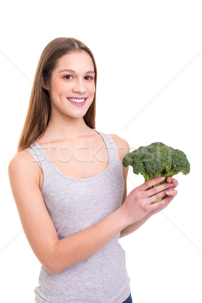 Eat your greens! Stock photo © hsfelix