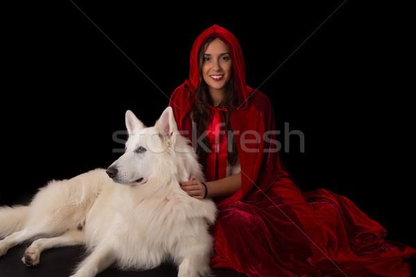 Red Hiding Hood concept Stock photo © hsfelix