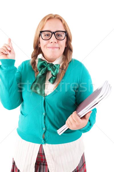 Schoolgirl Stock photo © hsfelix