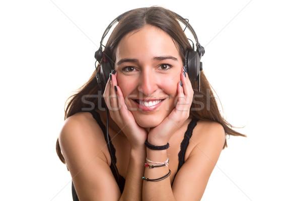 Listening to music Stock photo © hsfelix