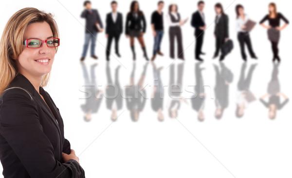Business woman posing Stock photo © hsfelix