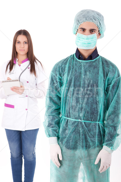 Nurse and medic Stock photo © hsfelix