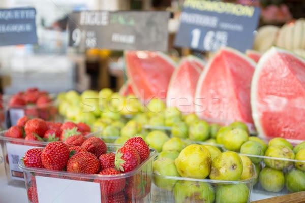 Fresh fruit Stock photo © hsfelix