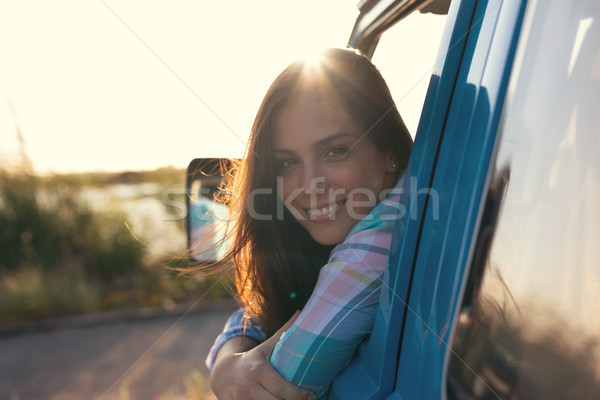 At Last! Summer Holidays! Stock photo © hsfelix