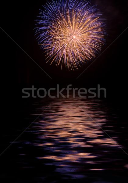 Exploding fireworks Stock photo © hsfelix