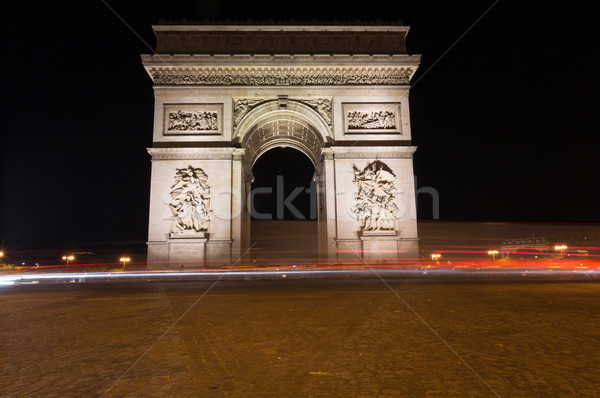 Famous Arc de Triomphe in Paris, France Stock photo © hsfelix