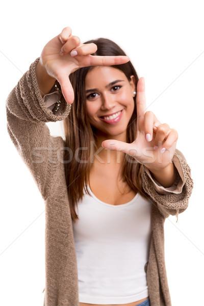 кадр мне ключевые жест Сток-фото © hsfelix