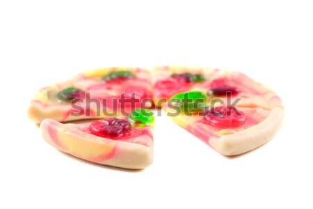 Gummy Pizza slices Stock photo © hsfelix