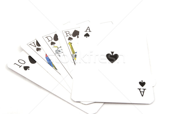 Poker Cards - Royal Flush Stock photo © hsfelix