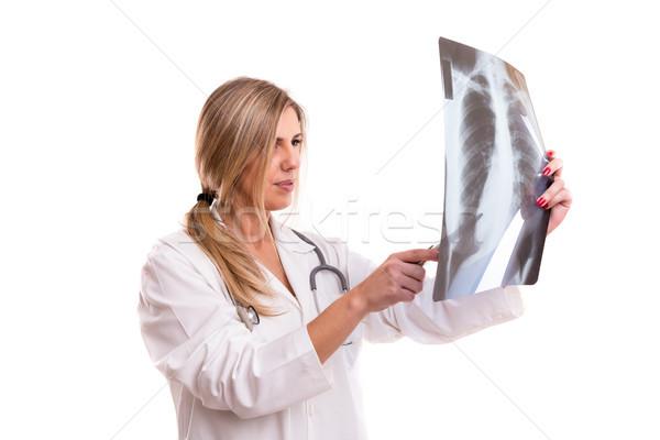 試験 幻想的な 美しい 小さな 医師 見える ストックフォト © hsfelix